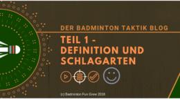 Badminton Taktik Blog 1