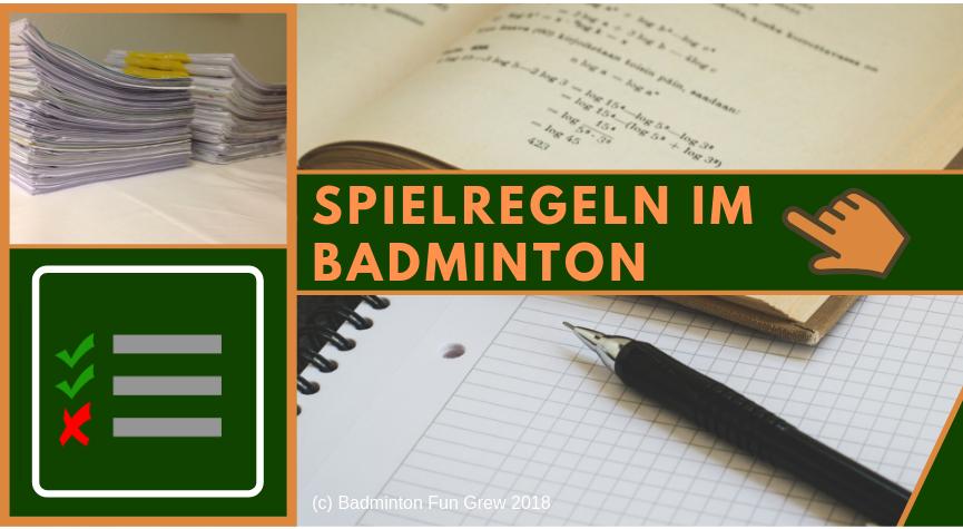 Badminton Regeln Beitragsbild