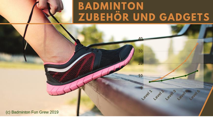 Badminton Zubehoer und Gadgets