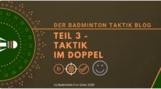 Badminton Taktik Blog 3