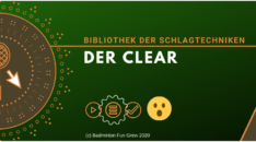 Schlagtechnik - Der Clear