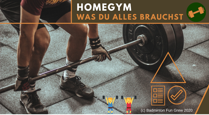 Beitragsbild-Fitness Homegym Ideen
