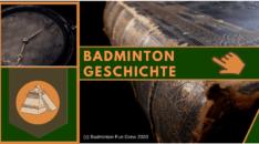 Badminton Geschichte