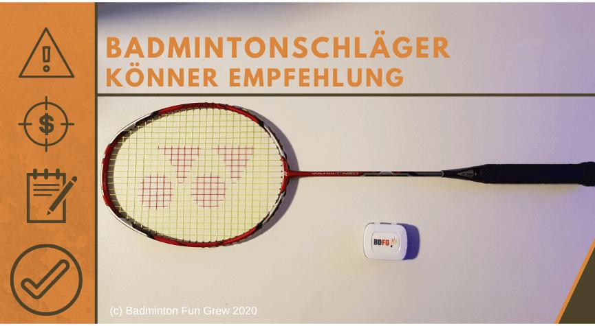 Yonex Voltric 7 Neo Badmintonschläger Test Beitragsbild