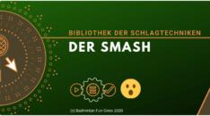 Schlagtechnik - Der Smash